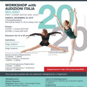 Joffrey Ballet School: Audizioni Per Il Programma Estivo 2020!
